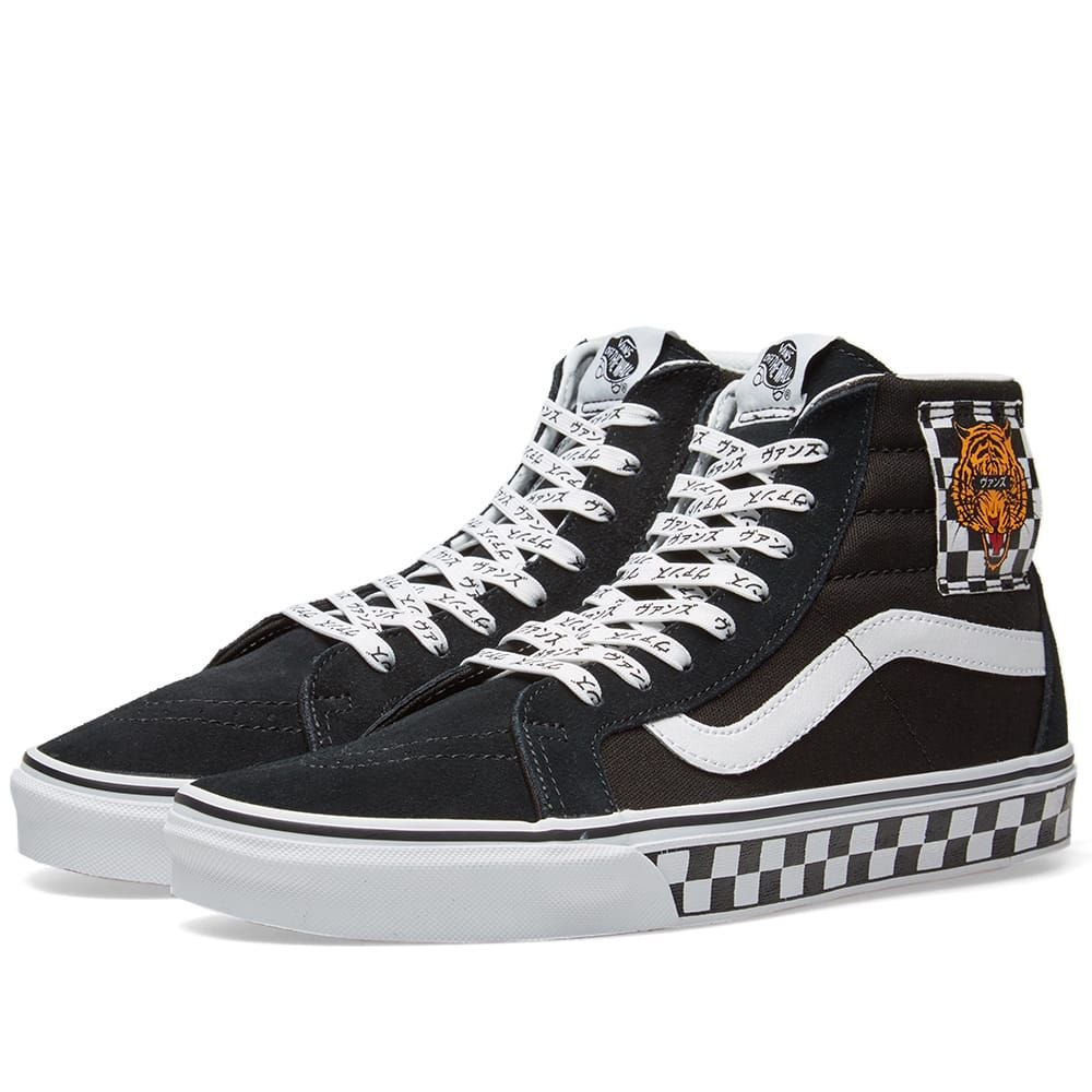 cd22d29e8f1 VANS VANS UA SK8-HI REISSUE TIGER CHECK.  vans  shoes