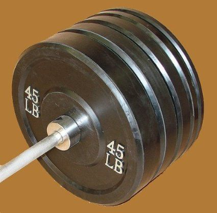 Rubber Bumper Plate Set (2 each 10 25 35 45 lb. : rubber plates set - pezcame.com