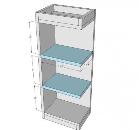 Open Shelf End Wall Cabinet Kitchen Wall Cabinets Wall Cabinet
