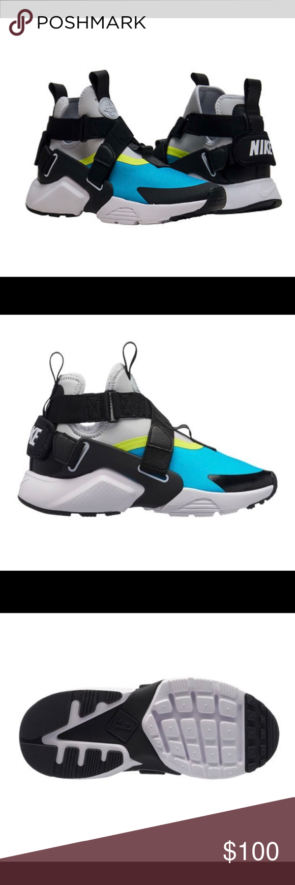 6e51d1768d0b Nike Air Huarache size 5.5Y women s 7 nike huarache city high Nike Shoes  Athletic Shoes