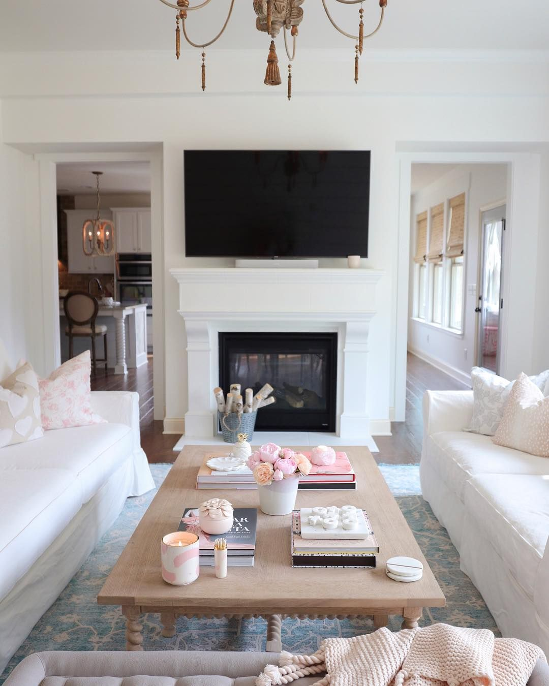 White Living Room Inspiration White Couch Wood Coffee Table Lo