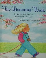 Five Senses Unit We Read The Listening Walk By Paul Showers