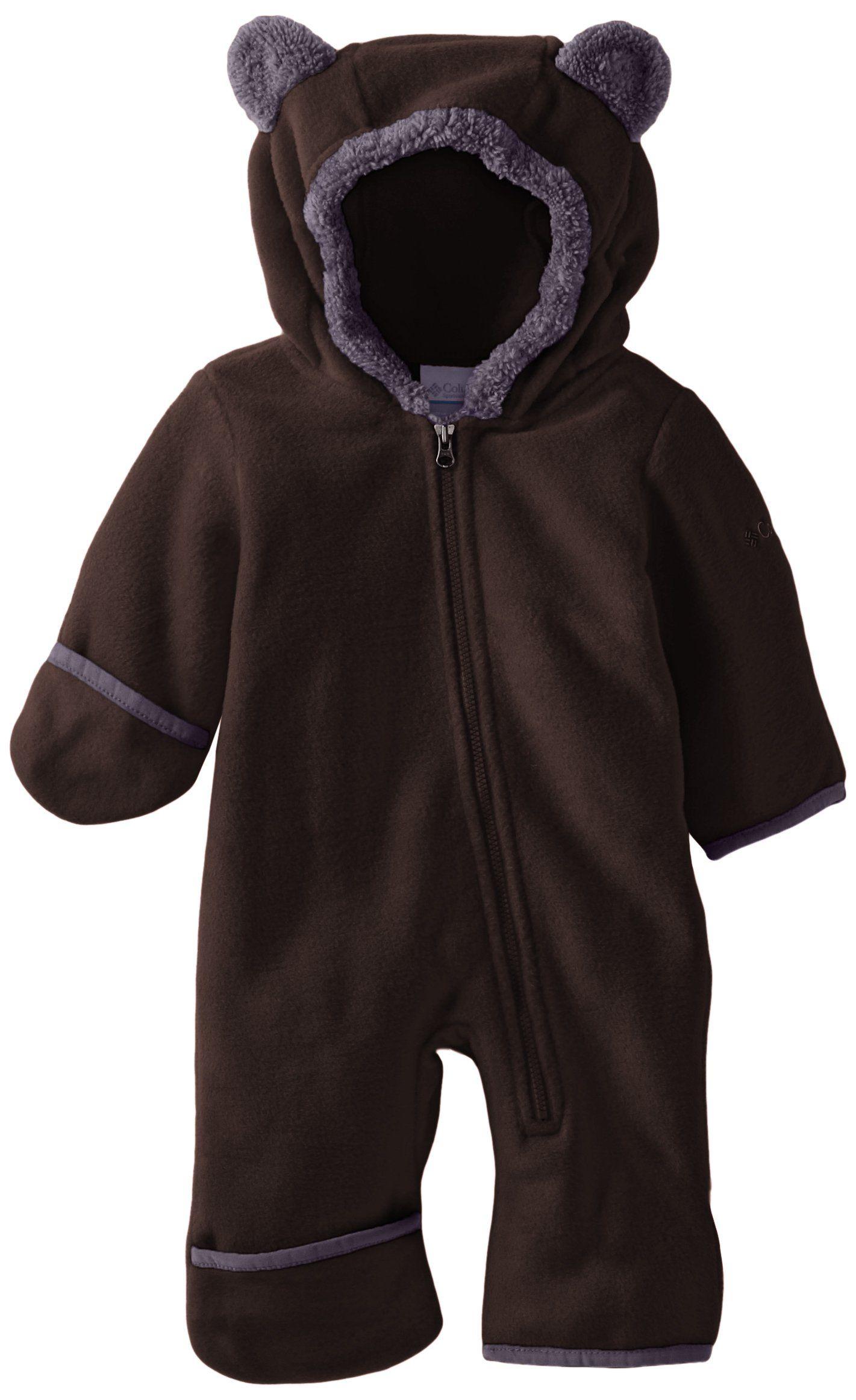 Columbia Baby Boys Newborn Infant Tiny Bear II Bunting Bark 0 3