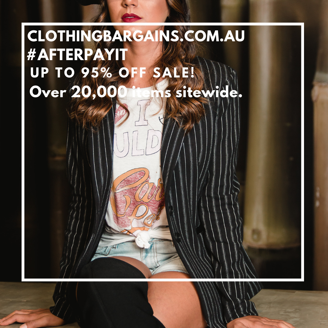 Clothing Sale Australia - Buy Now Pay Later - #afterpay #zippay