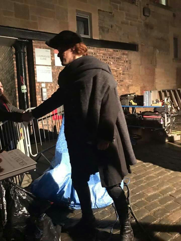Edinburgh filming S3 17 Jan 2017
