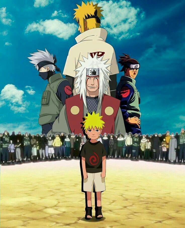 Naruto jiraiya iruka kakashi minato manga naruto - Dessin kakashi ...