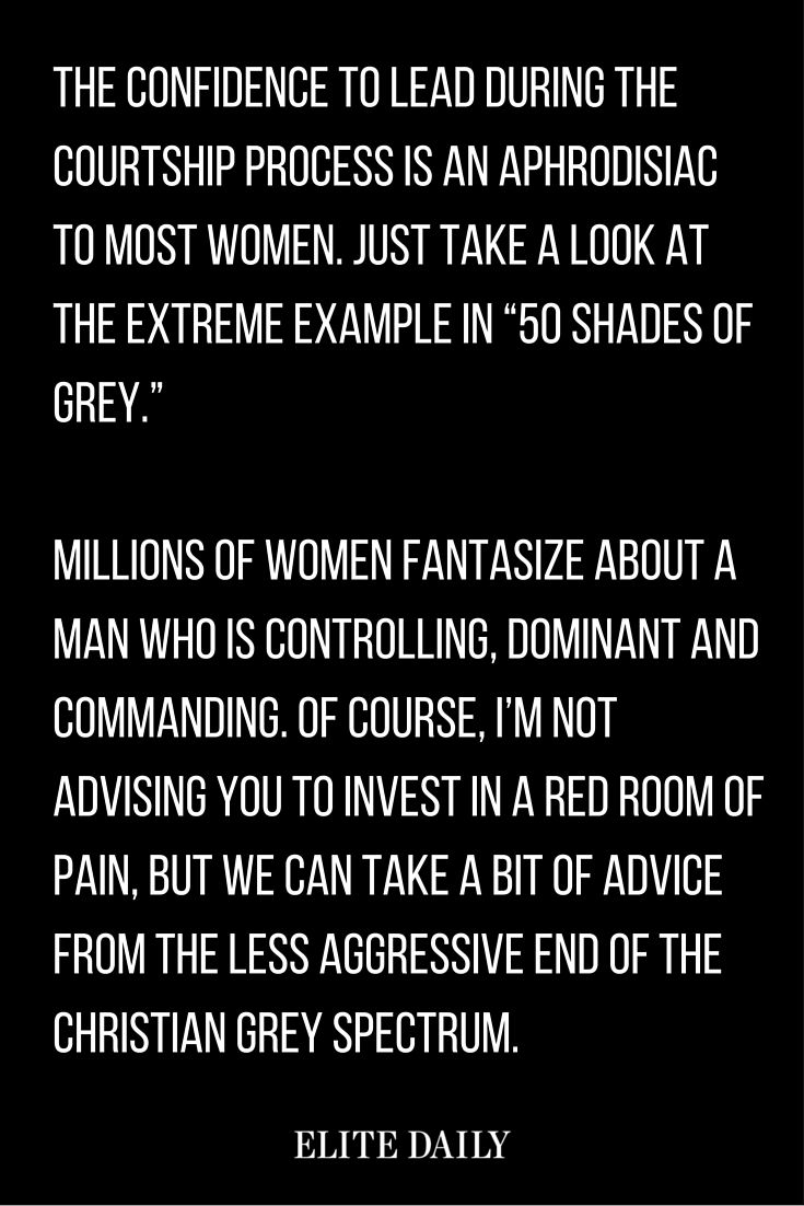 dating advice for men how to control a woman for a: