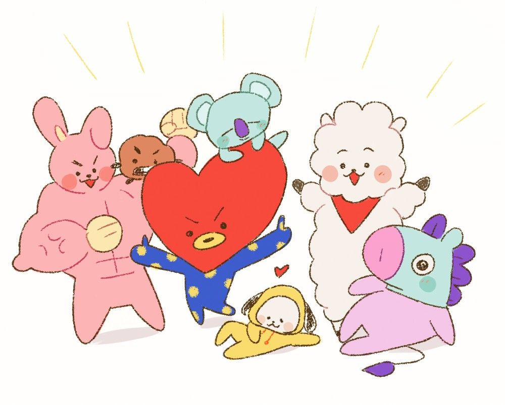 Pin By Beyza On BT21 Pinterest BTS