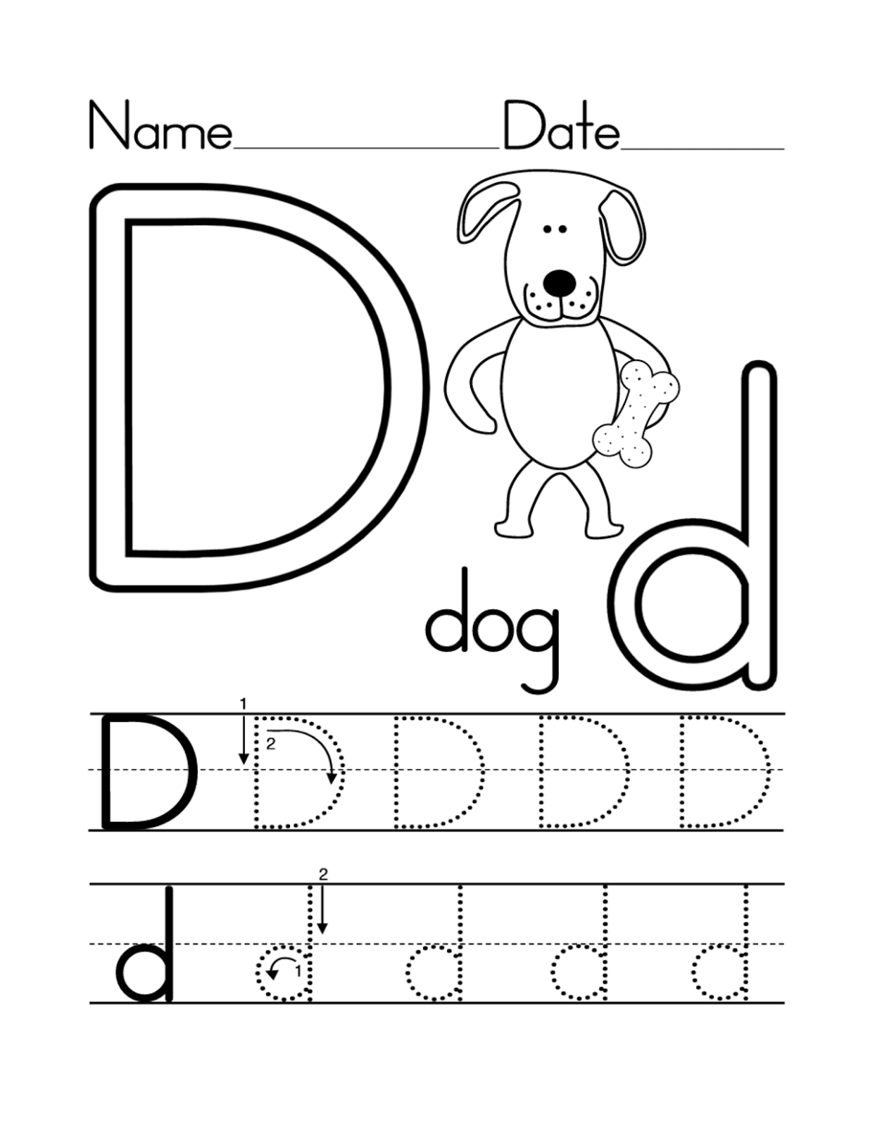 English Alphabet Worksheet