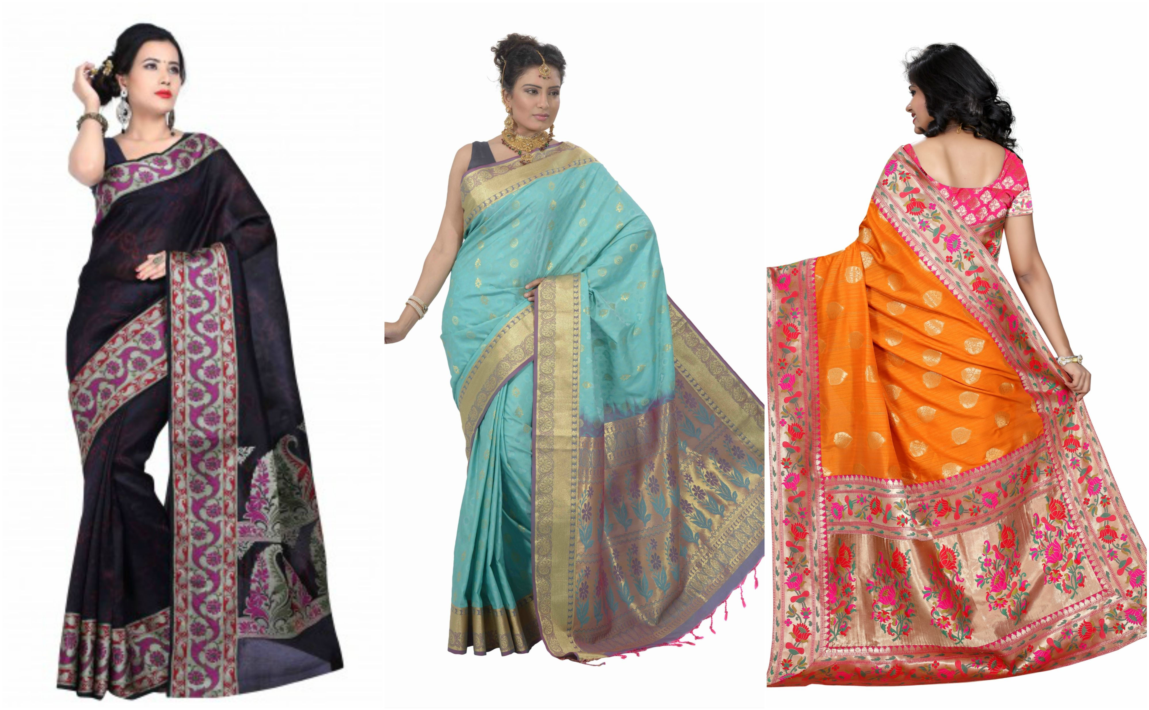 How to choose perfect saree for your body shape images