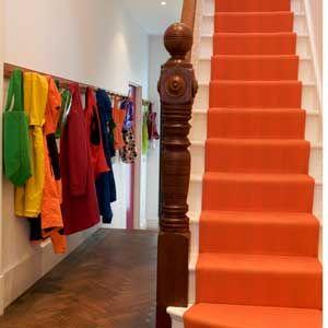 Orange Hallway Carpet   Best Hallway Carpets   Hallway Decorating Ideas    Allaboutyou.com