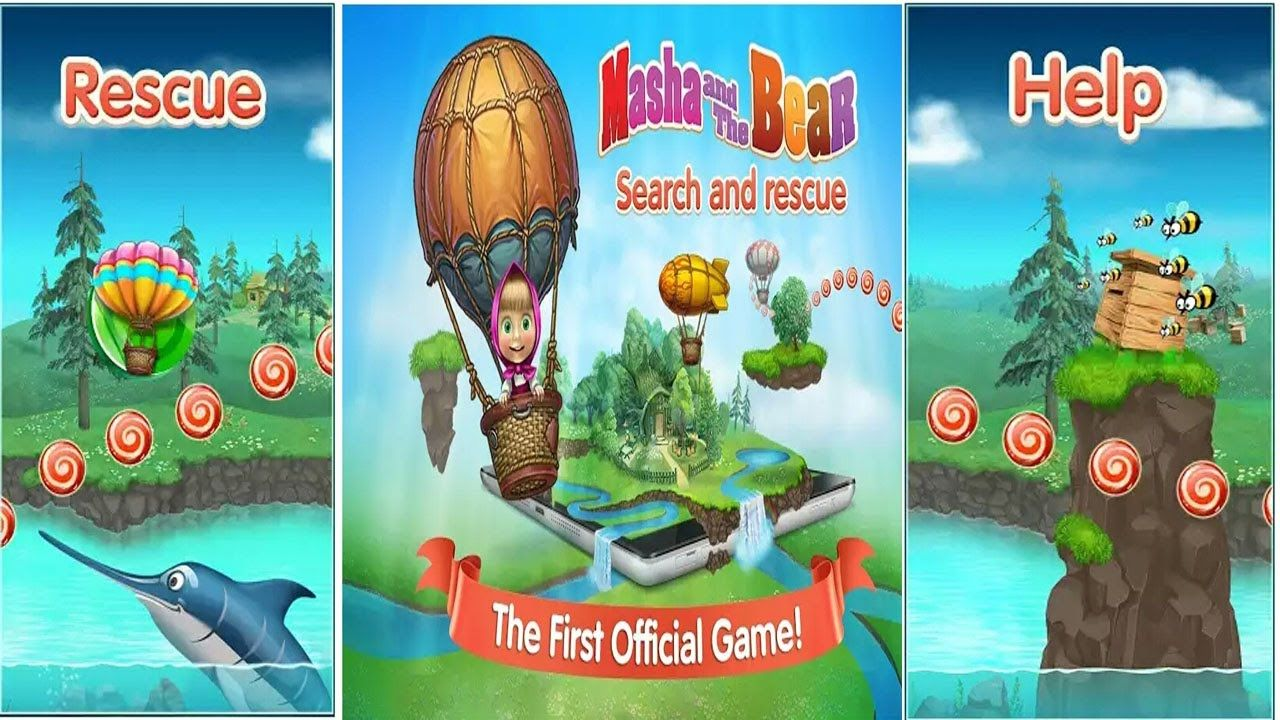 Amazing Masha And The Bear Game : Free Online Android , IOS Games