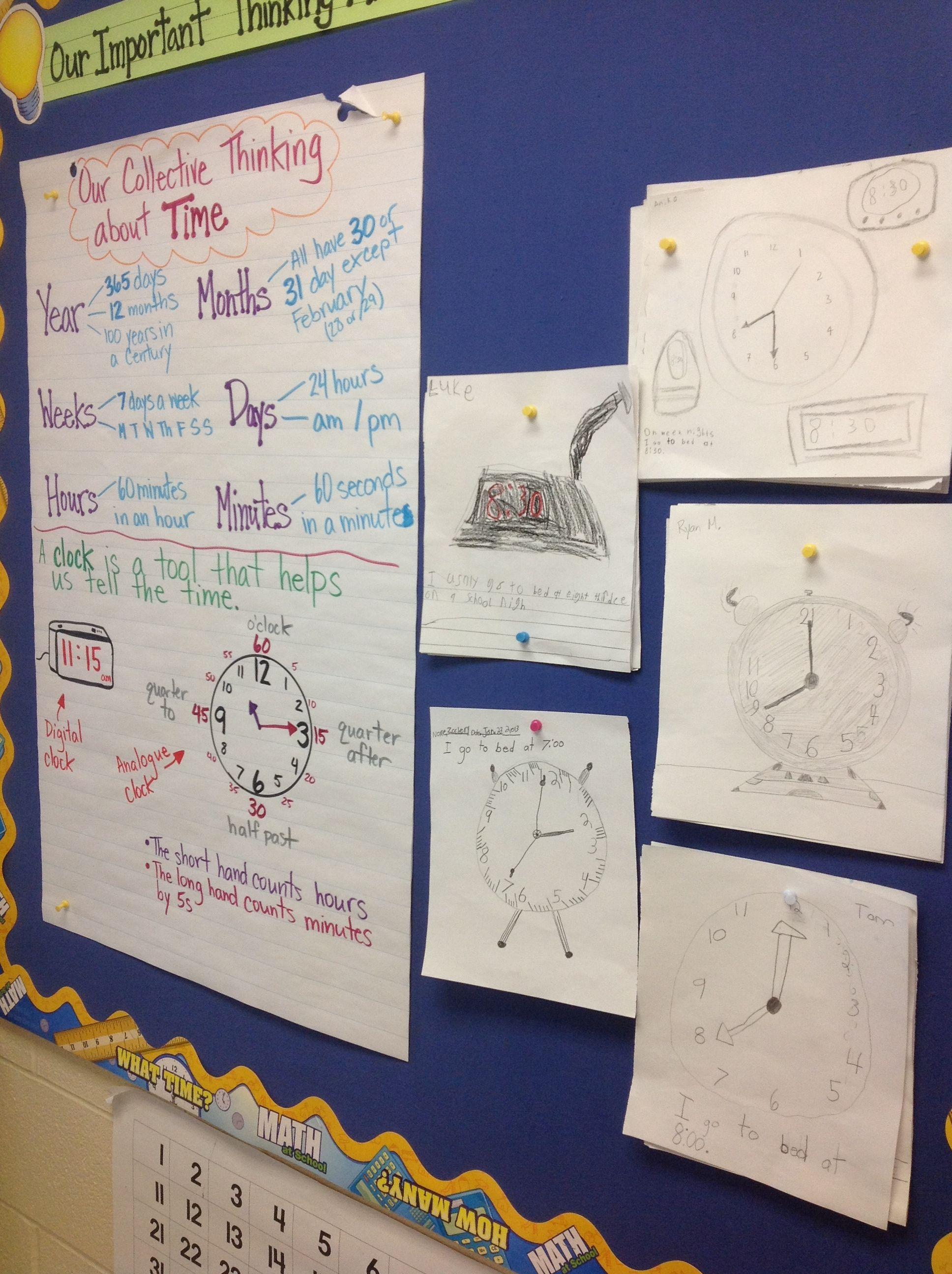 Time Diagnostic Activity Students Asked To Draw A Clock That Shows Their Bedtime Very Interesting Representations Misconceptions Guided Bedtime Student Math [ 2592 x 1936 Pixel ]