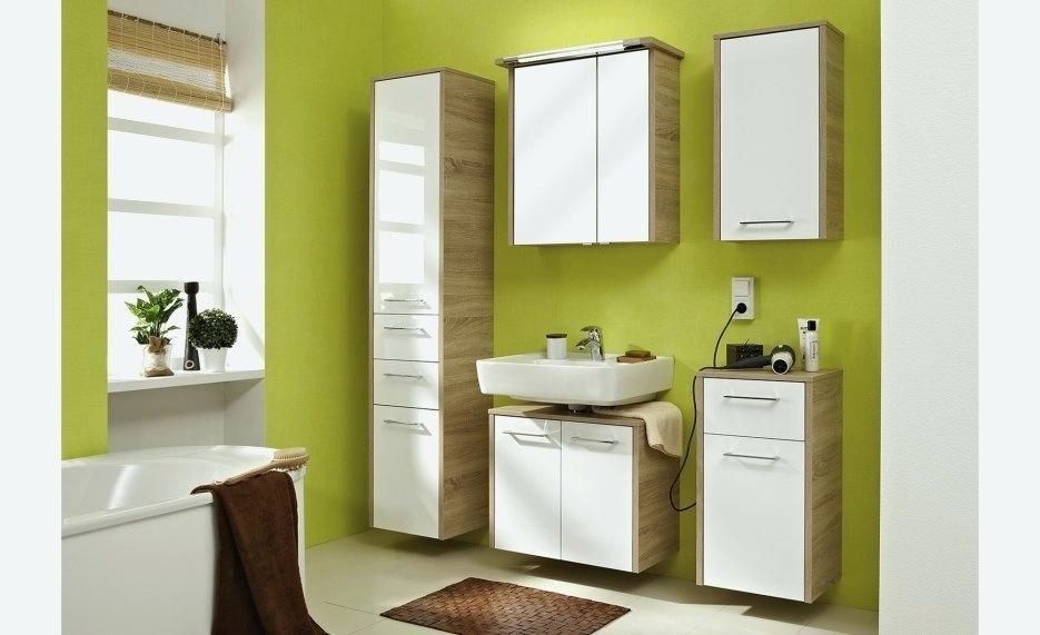 Badezimmer Hochschrank Mit Spiegel Badezimmer Fliesen Avec