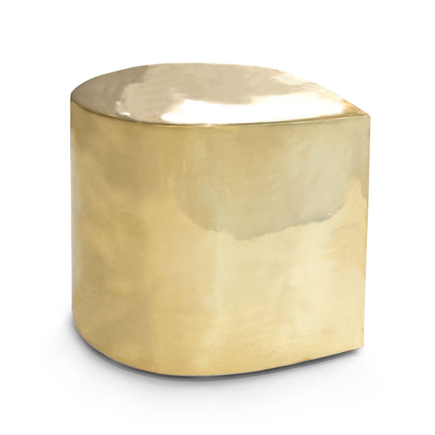 Brass Teardrop Side Table  Jonathan Adler