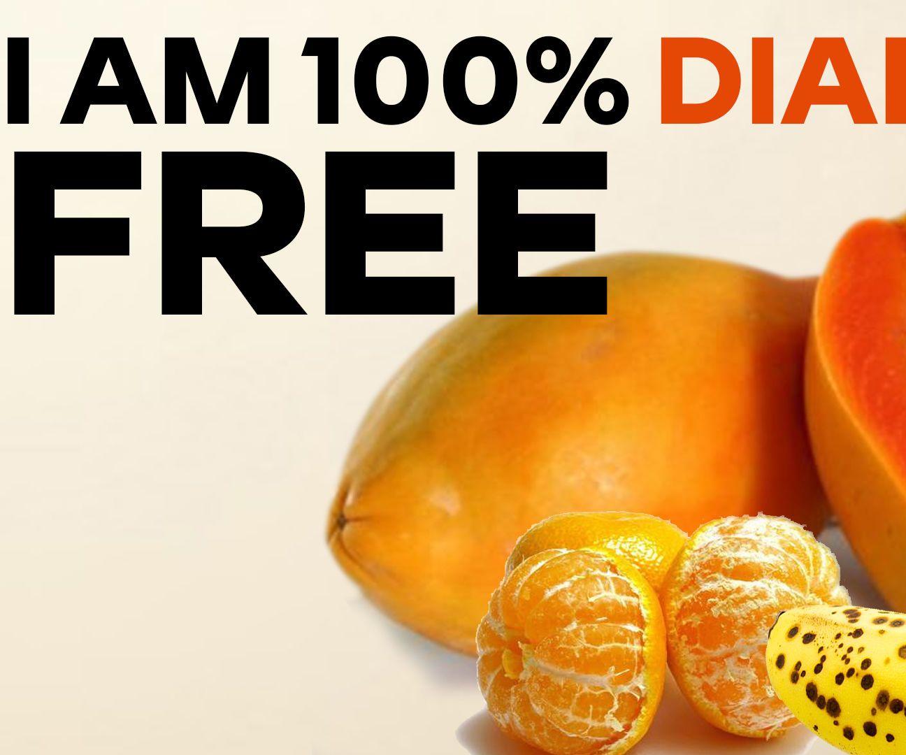 I am 100 diabetic free diabetic drinks sugar free