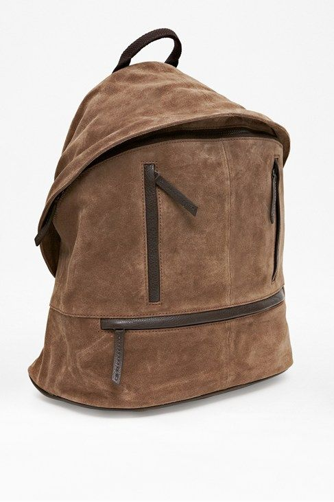 Barney Suede Rucksack french connection