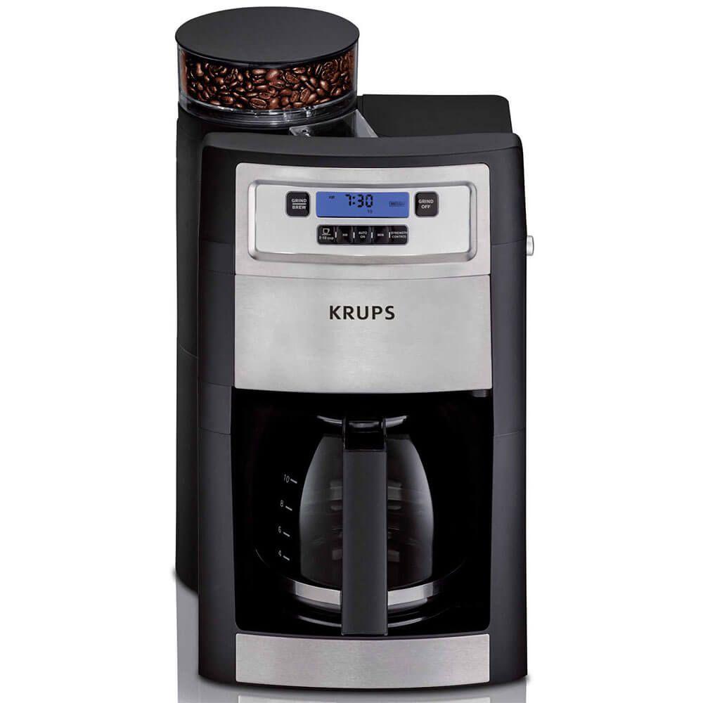 Krups Km785d50 Grind Brew 10 Cup Coffee Maker Keurig Coffee Makers Bunn Coffee Maker Coffee Maker