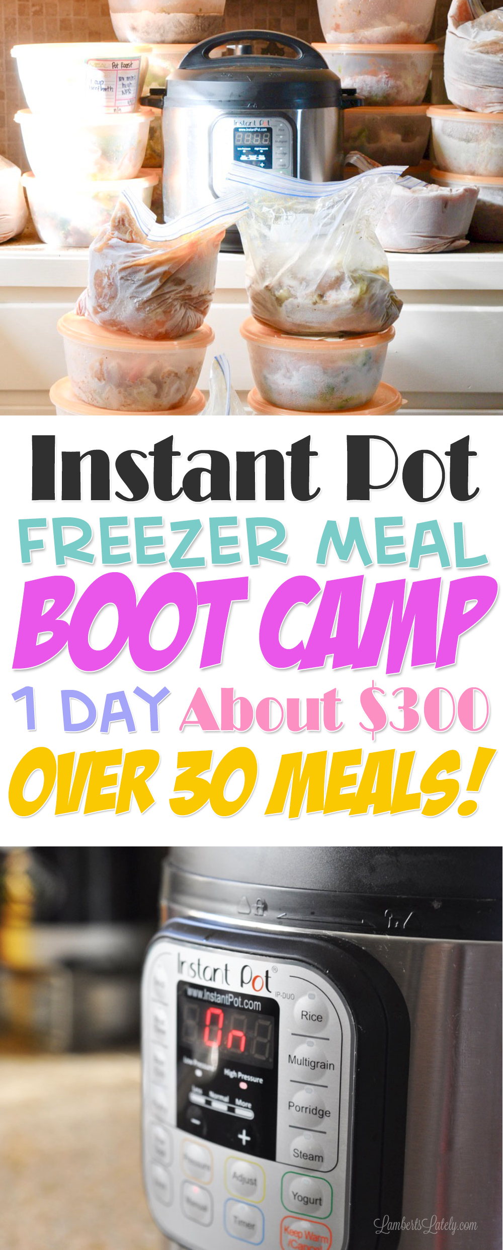 The original instant pot freezer meal boot camp one day of work instant pot freezer meal boot camp cheap easy monthly cooking dinner ideas forumfinder Image collections