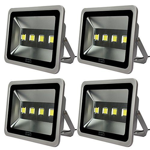 Commercial Outdoor Led Flood Light Fixtures Morsen 2 Pack 400W Led Floodlight Fixture High Power Indoor Outdoor