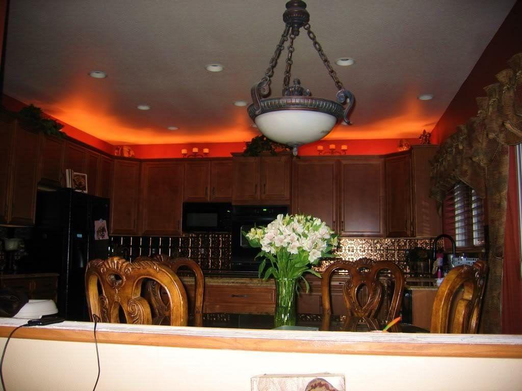 Above Kitchen Cabinet Rope Lighting Decorating Above Kitchen Cabinets Above Kitchen Cabinets Kitchen Lighting Design