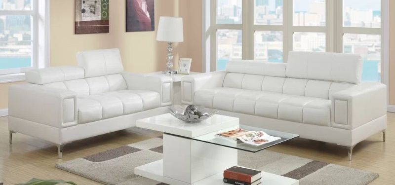 8 Faux Leather Sofa And Loveseat Set Options To Buy 2020 Living Room Sets Contemporary Living Room Sets Modern White Living Room