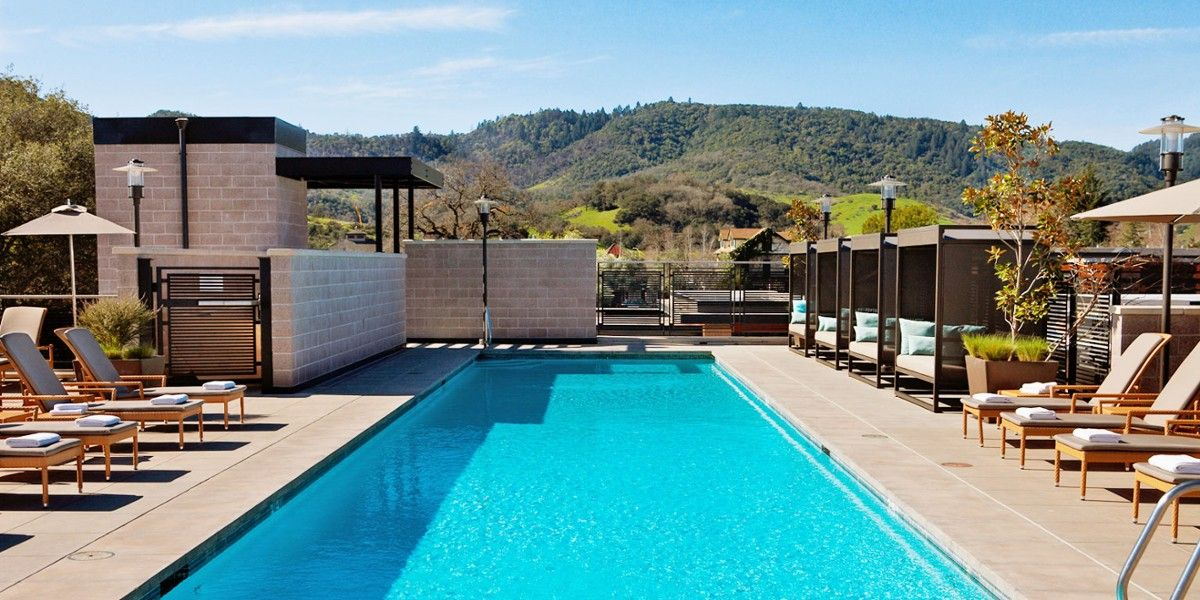 Bardessono Yountville Ca Hotels In Napa Napa Valley Spa
