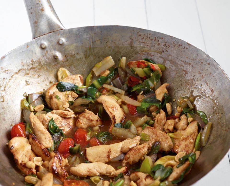 Rezept: Hähnchen aus dem Wok