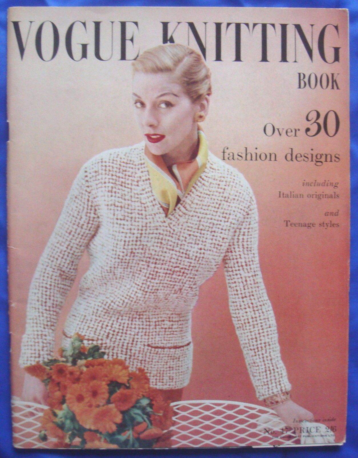 Vintage vogue knitting pattern booklet book no47 jumpercardigan vintage vogue knitting pattern booklet book no47 jumpercardigandress etc bankloansurffo Choice Image