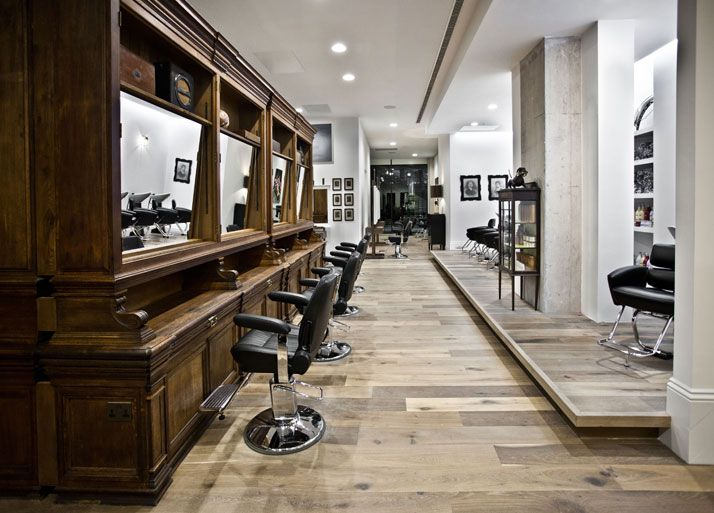 Salon de coiffure entreprise boutique atelier pinterest salons de - Decoration interieur salon de coiffure ...