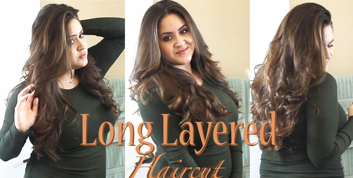 How To Cut Your Own Hair In Long Layers Tutorial Snip Snip Hair
