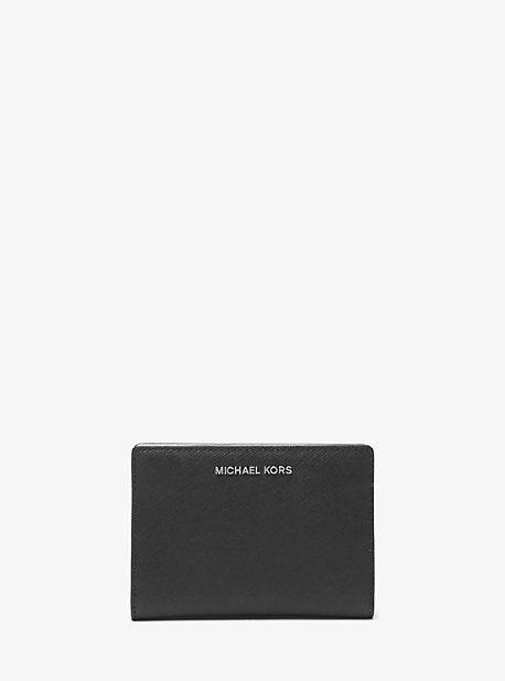 d741dd2d1331 Michael Kors Jet Set Medium Saffiano Leather Slim Wallet | Products ...