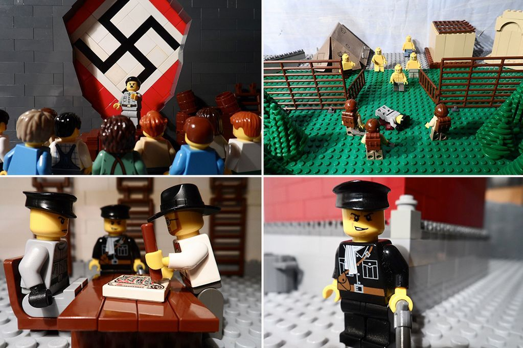 See incredible Holocaust timeline created in LEGO as part of ...