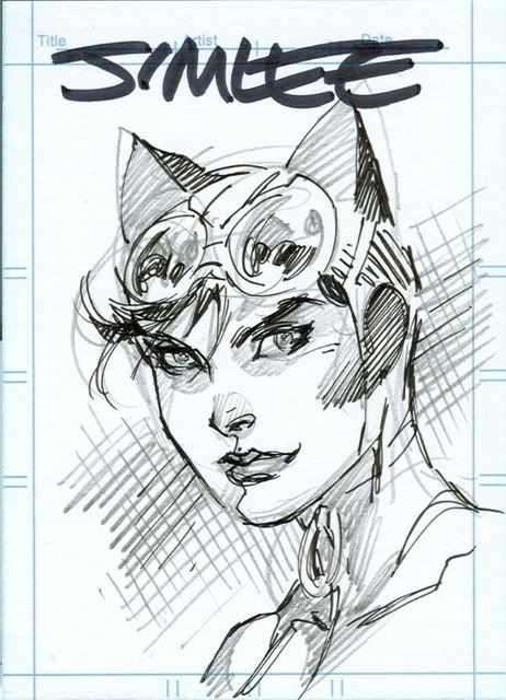 Jim Lee - Catwoman Card