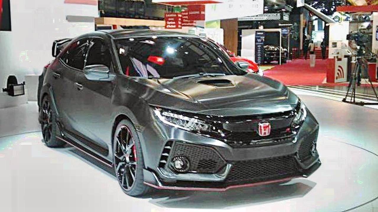 Honda Civic Type R 2018 Has Revealed In Geneva Before Its New Model Lau Honda Civic Type R Has Revealed In Geneva Before Its New Model Laun Autos Motorrad