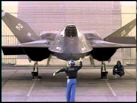 YF 23/ Black Widow2 by Northrop Gruman - documentary commercial