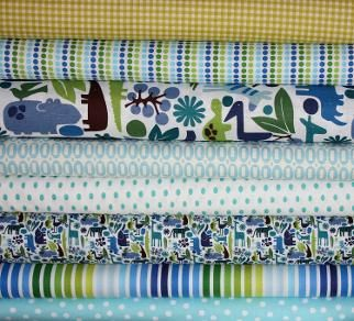2D Zoo fabric / Children's fabrics / Studio Collection / South Africa