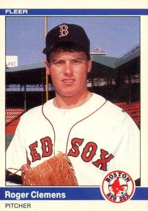 1984 Fleer Update Baseball Roger Cle Rookie Card | Best 80's ...