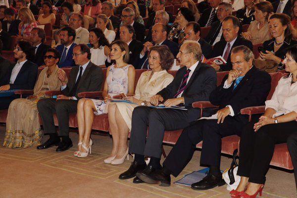 Foro Hispanico de Opiniones sobre la Realeza: Doña Letizia en la entrega de los Premios UNICEF Comité Español 2015. Madrid, 23.06.2015