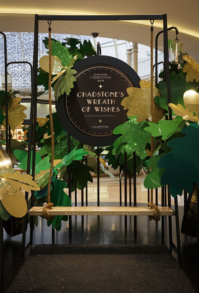 Exhibition Stall Arrangements : Gloss creative chadstone wreath of wishes christmas