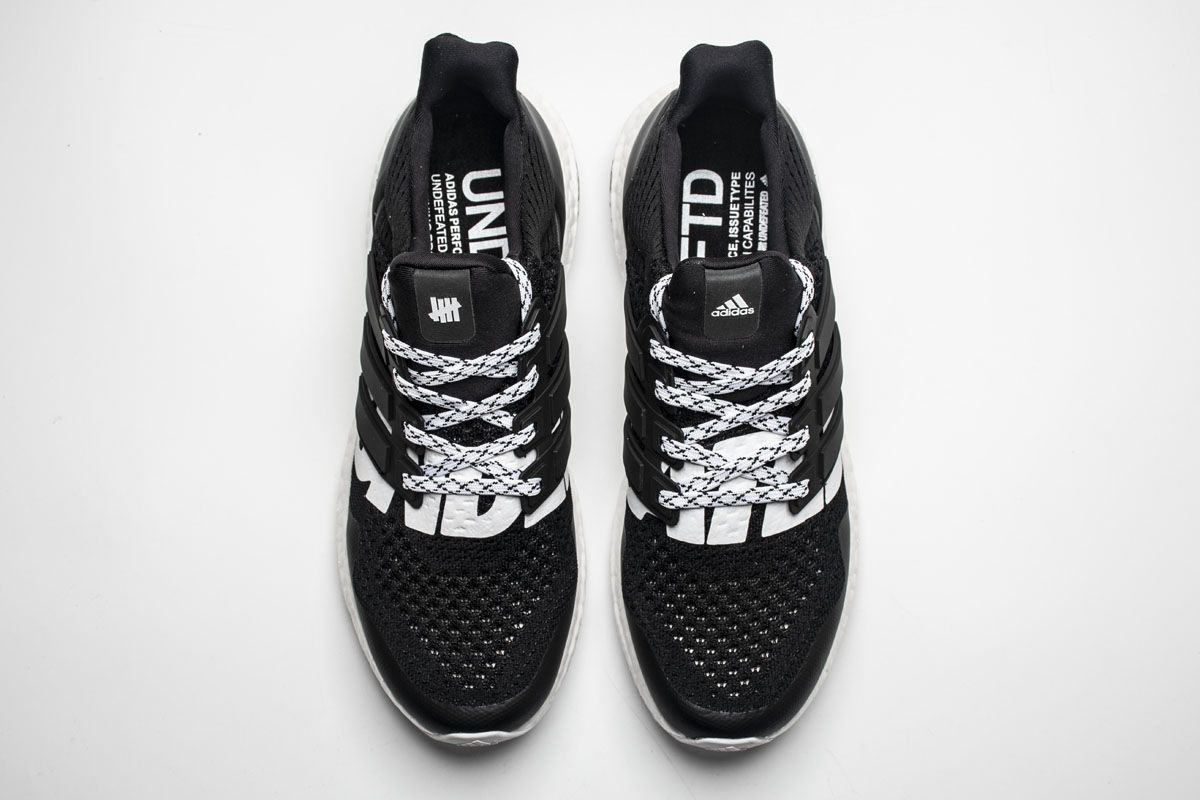 db051b6812156 Undefeated x Adidas Ultra Boost 4.0 B22480 Black White Real Boost6 ...