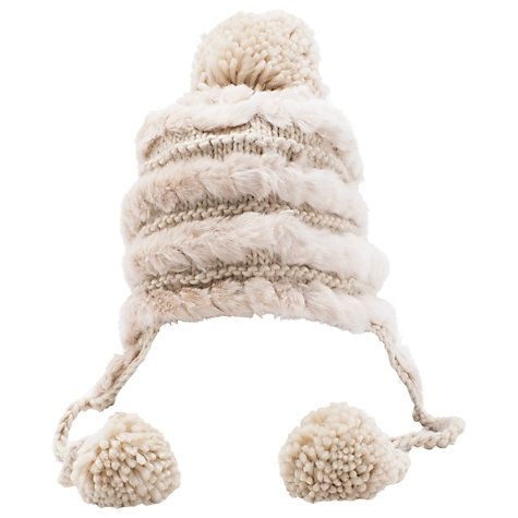 Buy French Connection Delsa Hat, Cream Online at johnlewis.com