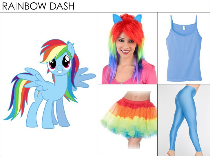 8 Non-Slutty Halloween Costumes for 2014. Rainbow Dash ...  sc 1 st  Pinterest : rainbow dash halloween costume  - Germanpascual.Com
