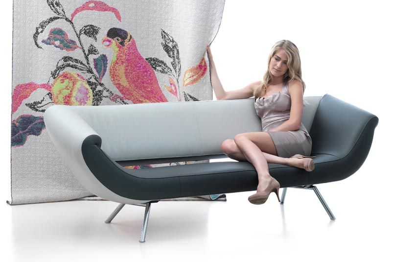 Leolux Helical Design Fauteuil.Leolux Arabella Bank Design Bank En Moderne Bank