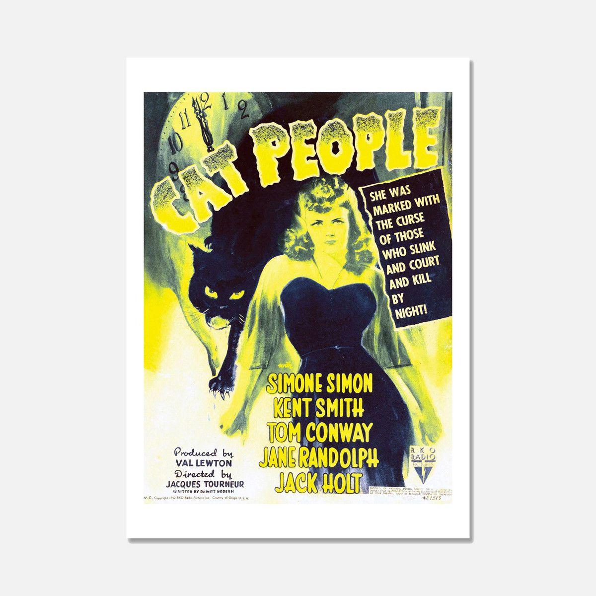 eu.Fab.com   Cat People Print