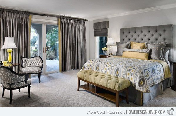 Gray and yellow bedroom ideas nzdnt  also adult pinterest rh