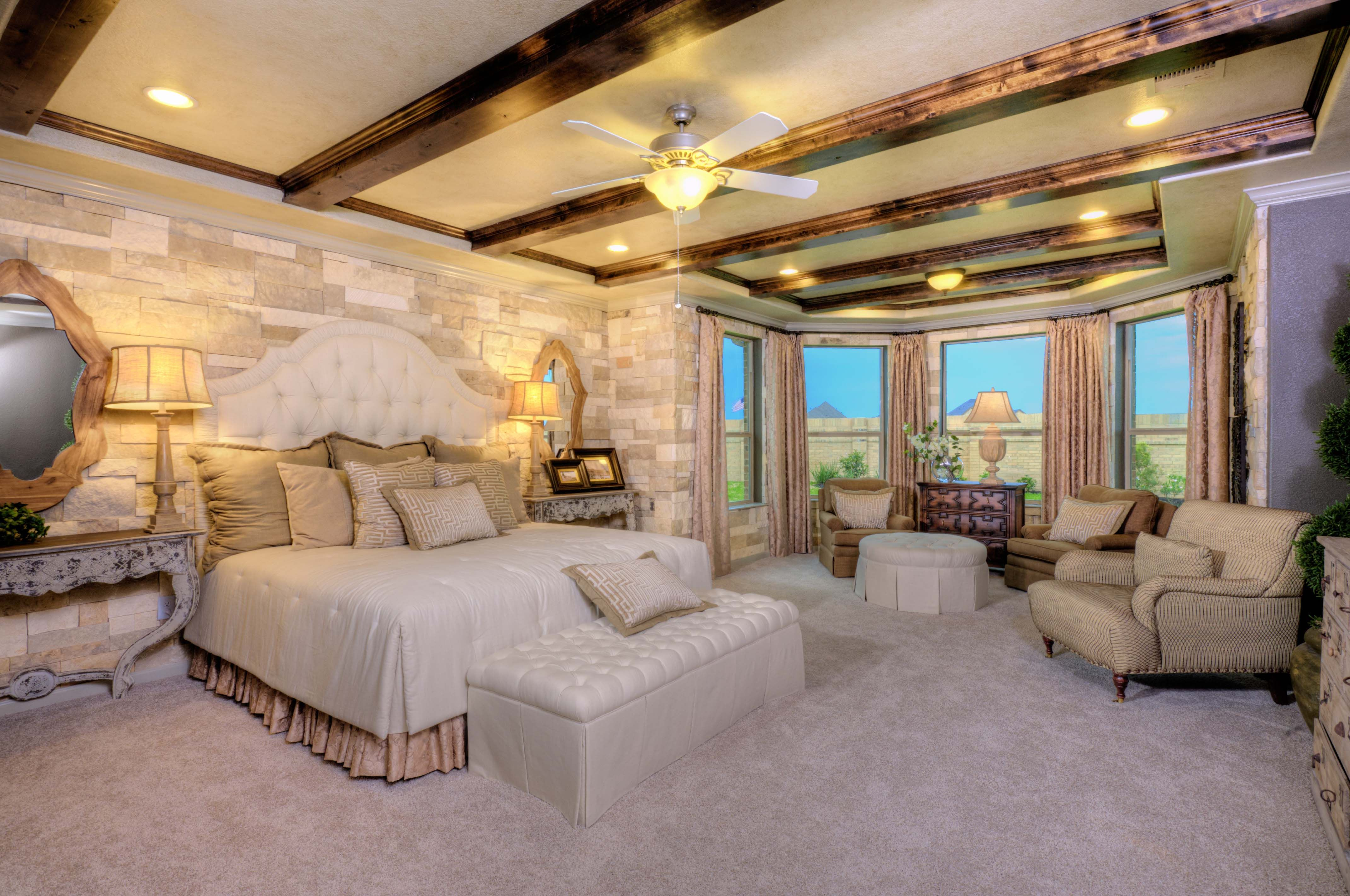Absolutely stunning! Enjoy relaxing in this #master #bedroom ...