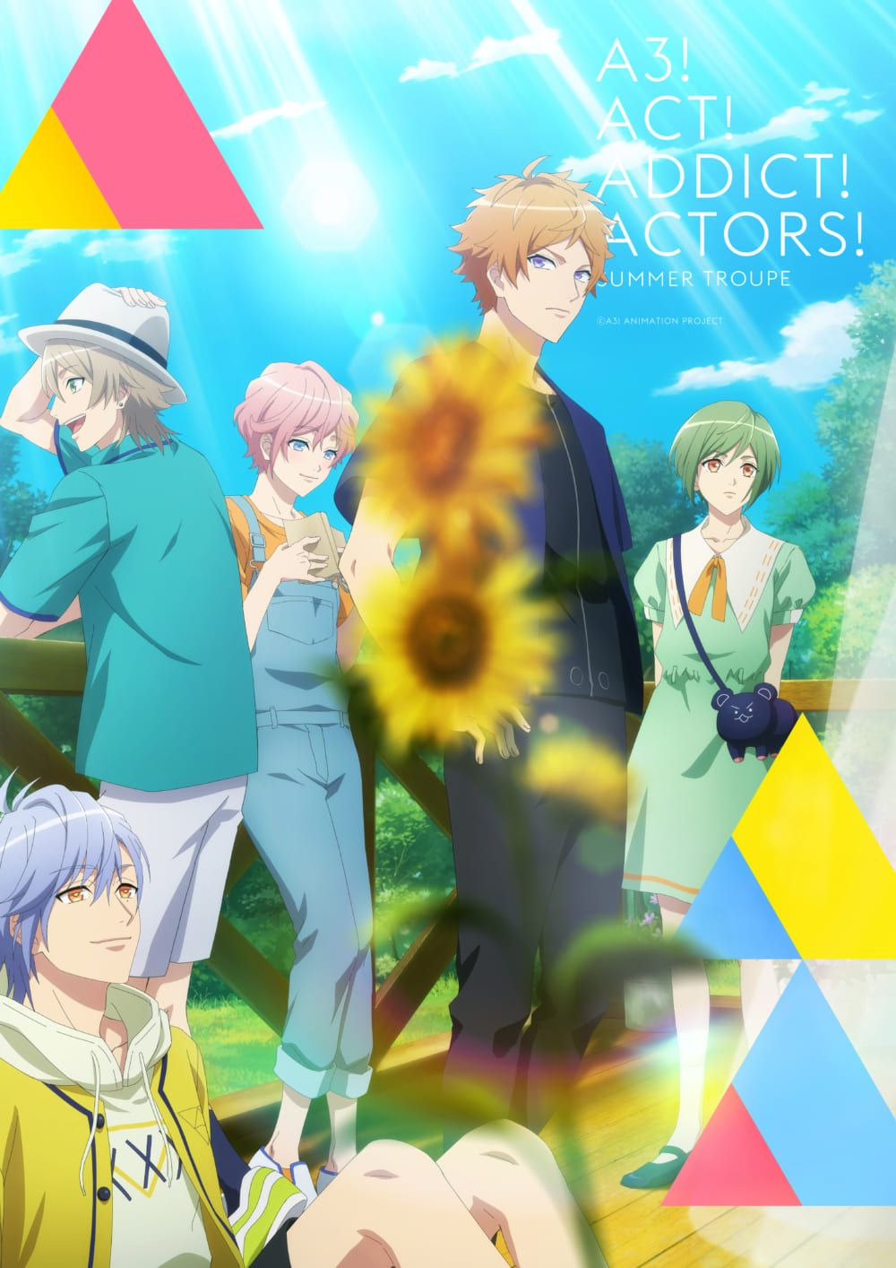 A3! Season Spring and Summer 01 in 2020 Anime, Anime