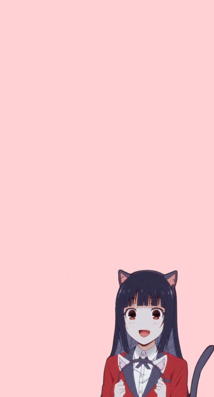 Yumeko Jabami Wallpaper Kakegurui Wallpaper Di 2021 Seni Anime Seni Buku Gambar Anime 17 pink anime wallpaper