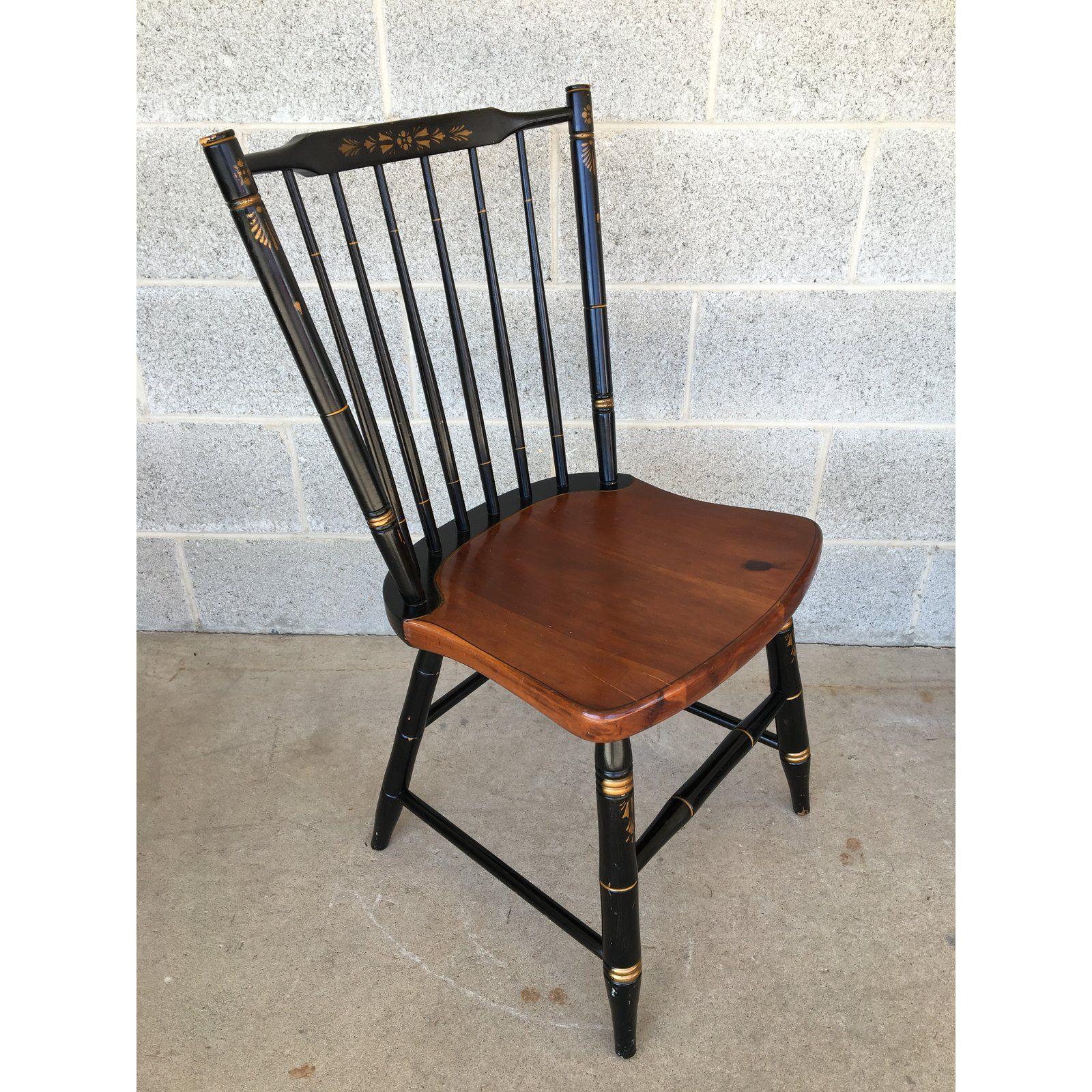 L Hitchcock Windsor Stickback 440 Farmhouse Chairs Set Of 6